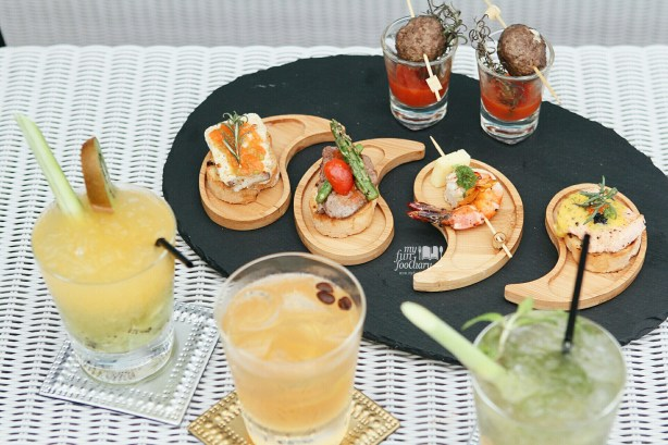 Mixed Tapas and Mocktail at 33 Degree Skybridge Lounge by Myfunfoodiary