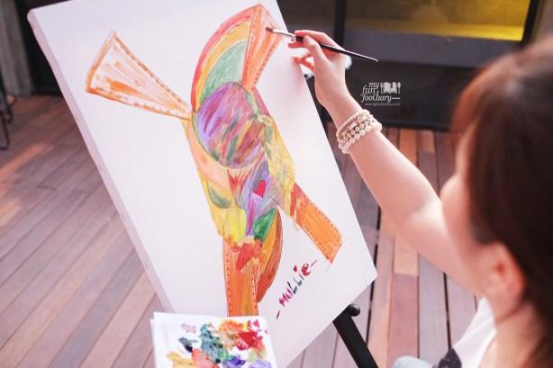 My Drawing at BART Artotel by Myfunfoodiary