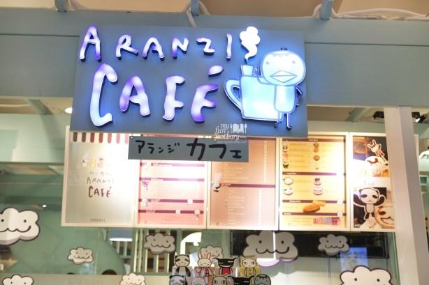 Signboard at Aranzi Cafe Jakarta by Myfunfoodiary