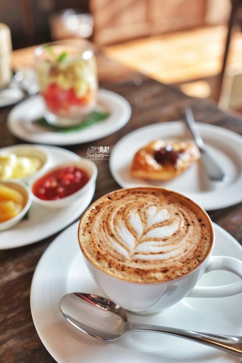 Beautiful Cappucinno at Alaya Resort Ubud by Myfunfoodiary