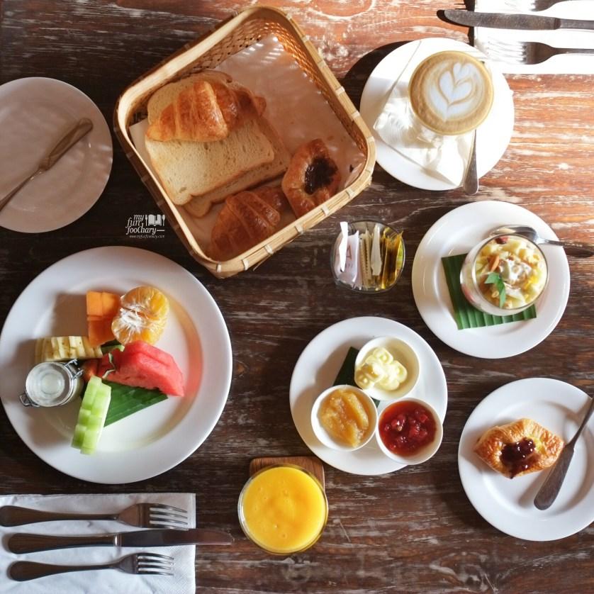 Croissants at Alaya Resort Ubud by Myfunfoodiary