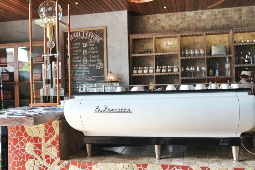 La Marzocco at Petani Restaurant - Alaya Resort Ubud by Myfunfoodiary