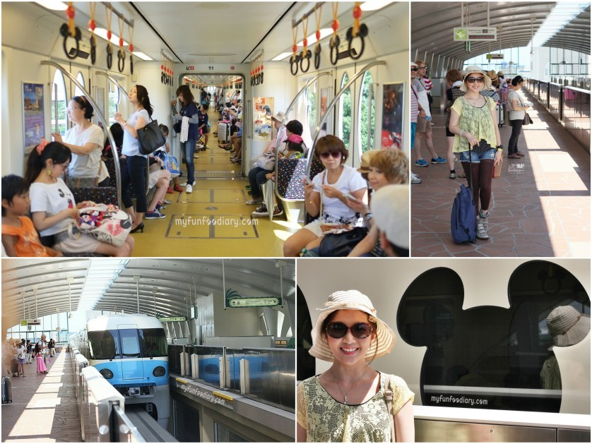 Our Tokyo Disneyland Train from The Resort - by Myfunfoodiary