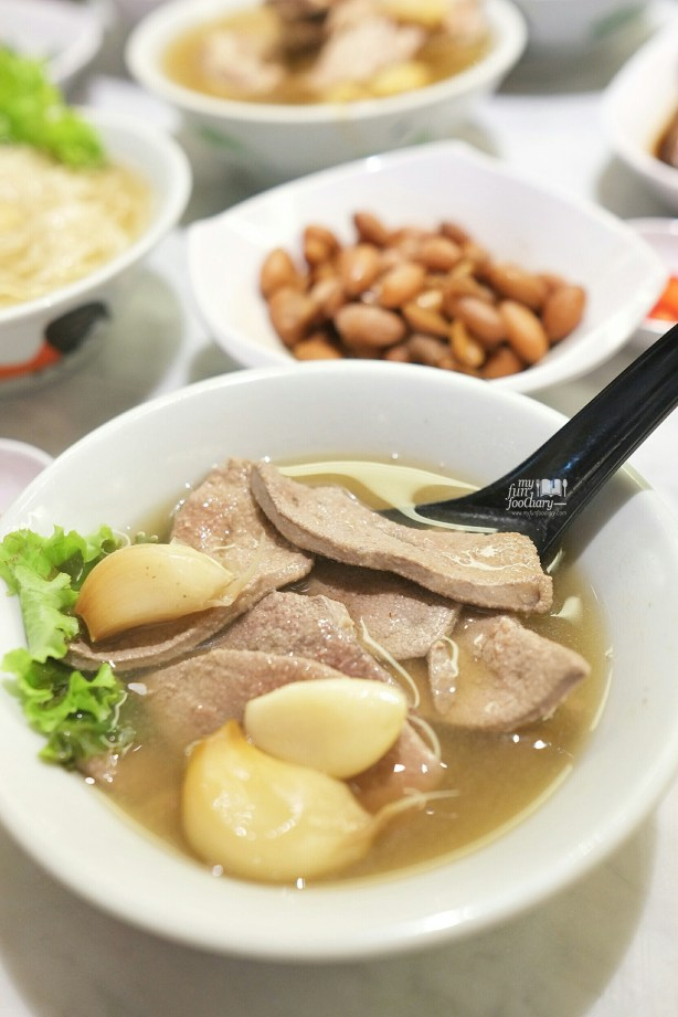 Pig's Liver Soup at Song Fa Bak Kut Teh Jayakarta by Myfunfoodiary