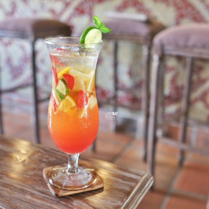 Sunny Blow Mocktail at Petani Restaurant by Myfunfoodiary