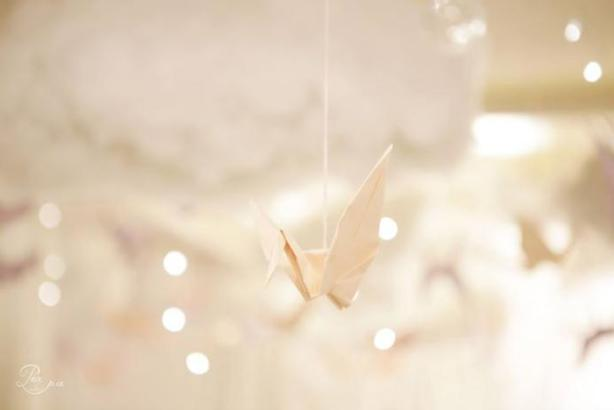 flying paper bird by Pea and Pie