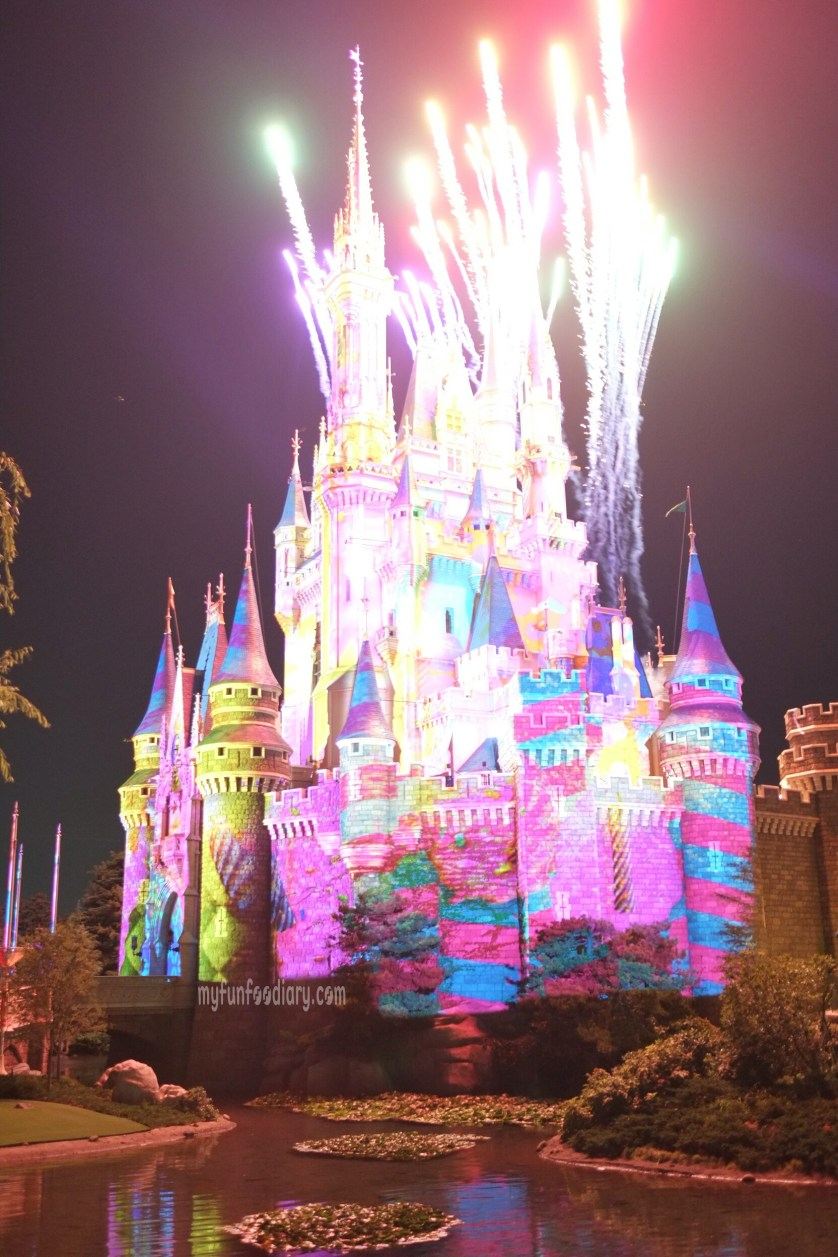 3D Mapping on Cinderella Castle at Tokyo Disneyland by Myfunfoodiary 01