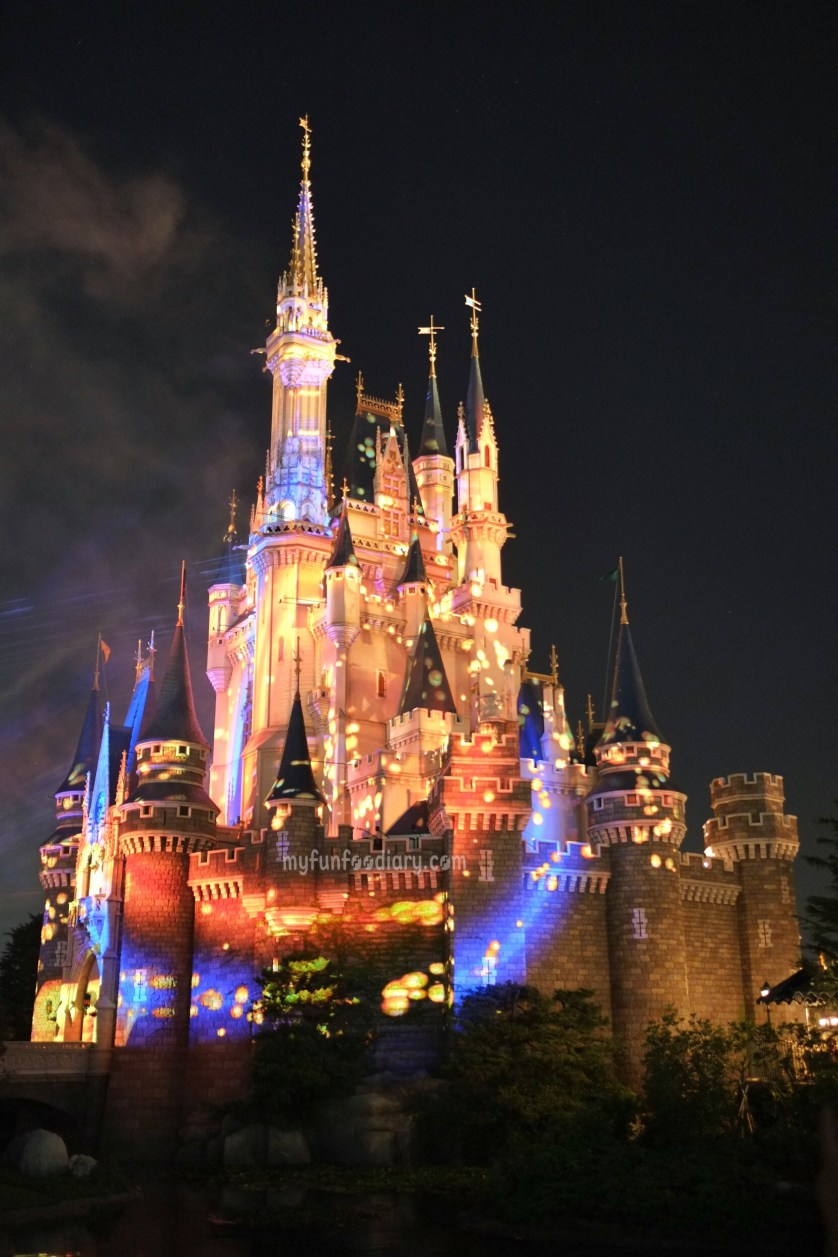 3D Mapping on Cinderella Castle at Tokyo Disneyland by Myfunfoodiary 03