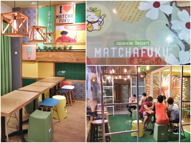 Ambiance at Matchafuku Citra by Myfunfoodiary