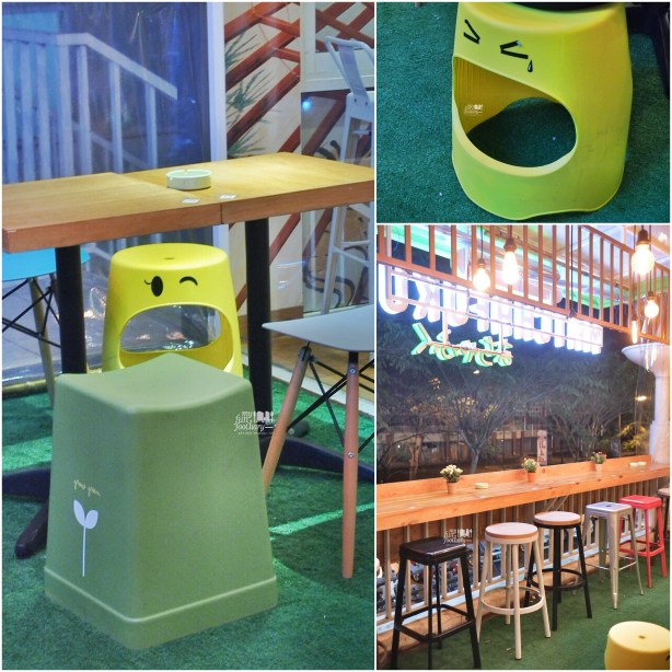 Cute Chairs at Matchafuku Citra by Myfunfoodiary
