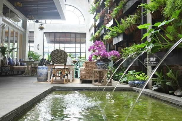 Outdoor Area at Blue Jasmine Jakarta by Myfunfoodiary