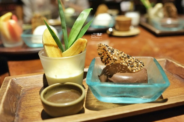 Peanut Butter Mousse at Nampu Restaurant Grand Hyatt Bali by Myfunfoodiary