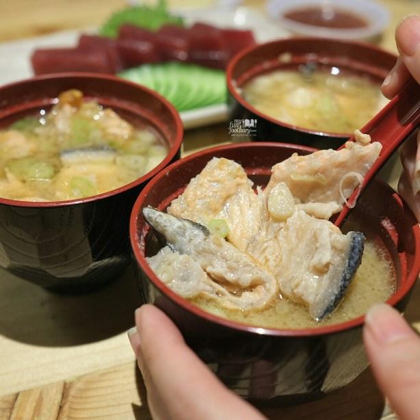 Salmon Bone Miso Soup at Sushi Matsu BSD by Myfunfoodiary 01