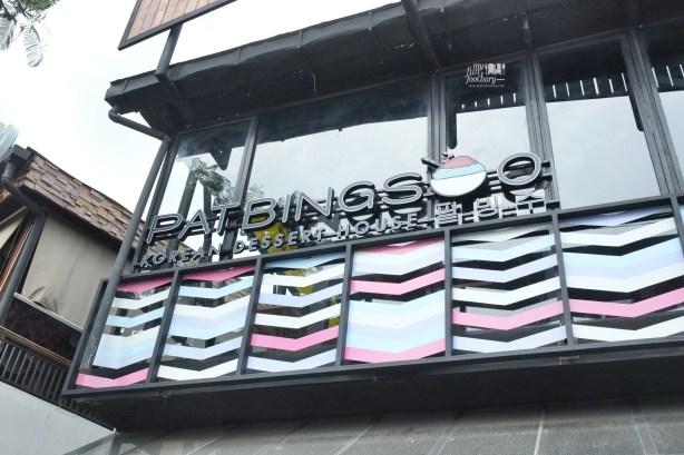 Signboard Pat Bing Soo Korean Dessert House by Myfunfoodiary