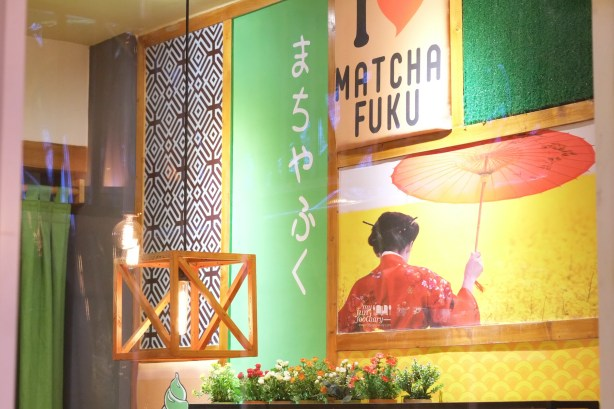 Simple Japanese Decor at Matchafuku Citra by Myfunfoodiary