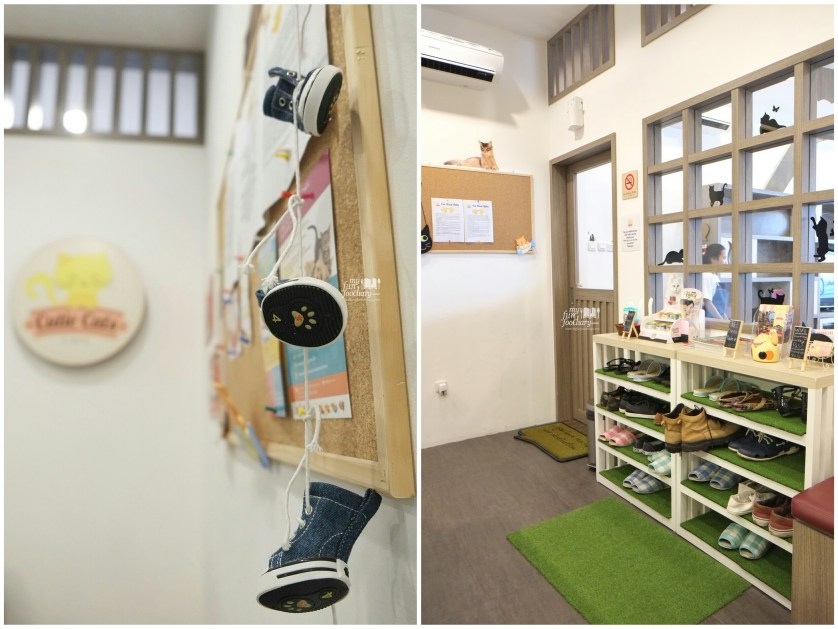 Ambiance at Cutie Cats Cafe by Myfunfoodiary collage 2
