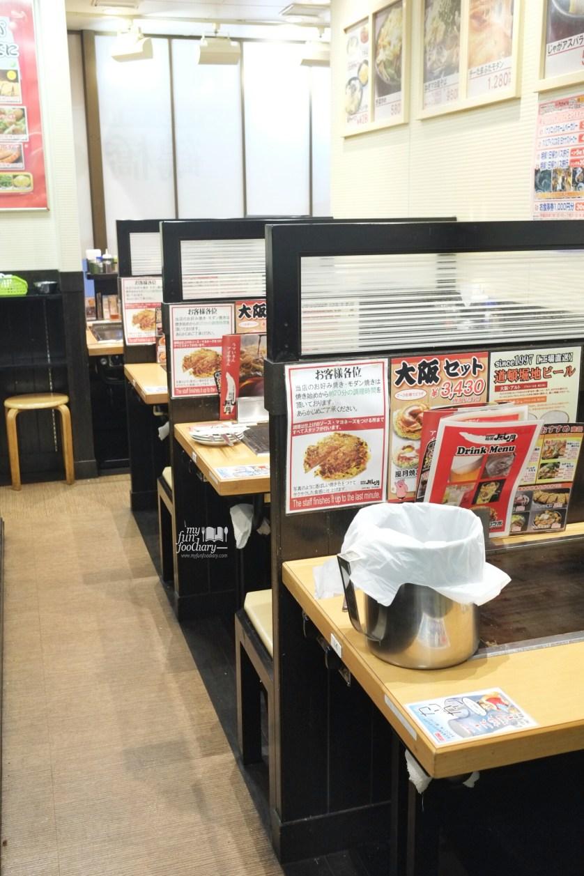 Ambiance at Tsuruhashi Fugetsu Osaka Dotonbori by Myfunfoodiary