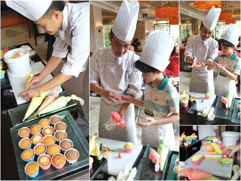 Cupcakes Decoration at Rosso Shangrila Jakarta by Myfunfoodiary