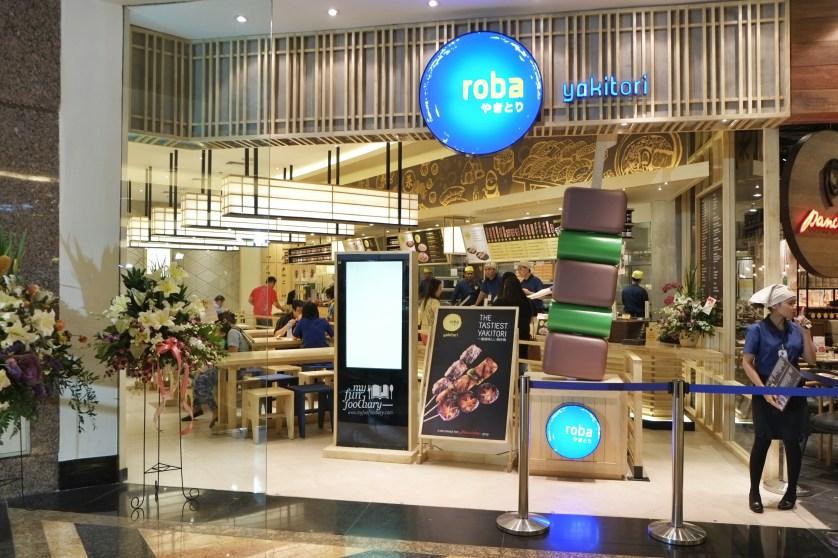 Exterior Look at Roba Yakitori Mall Taman Anggrek by Myfunfoodiary
