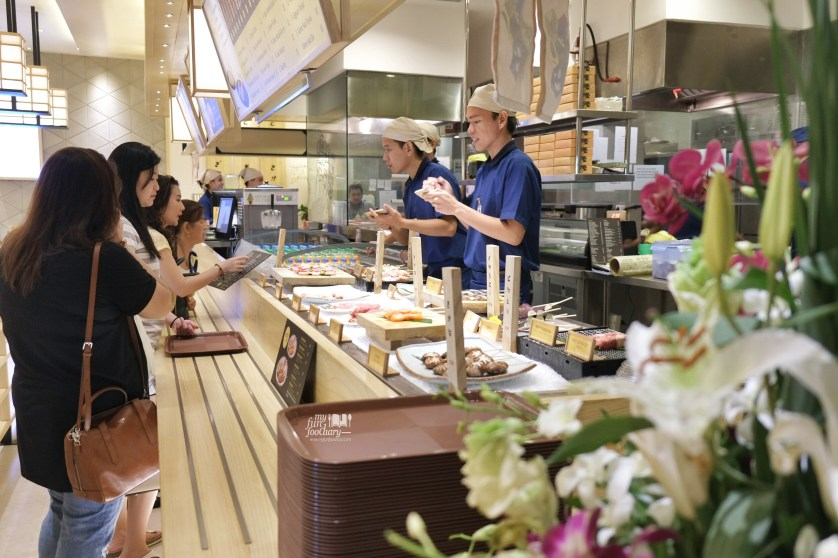 Order Station at Roba Yakitori Mall Taman Anggrek by Myfunfoodiary