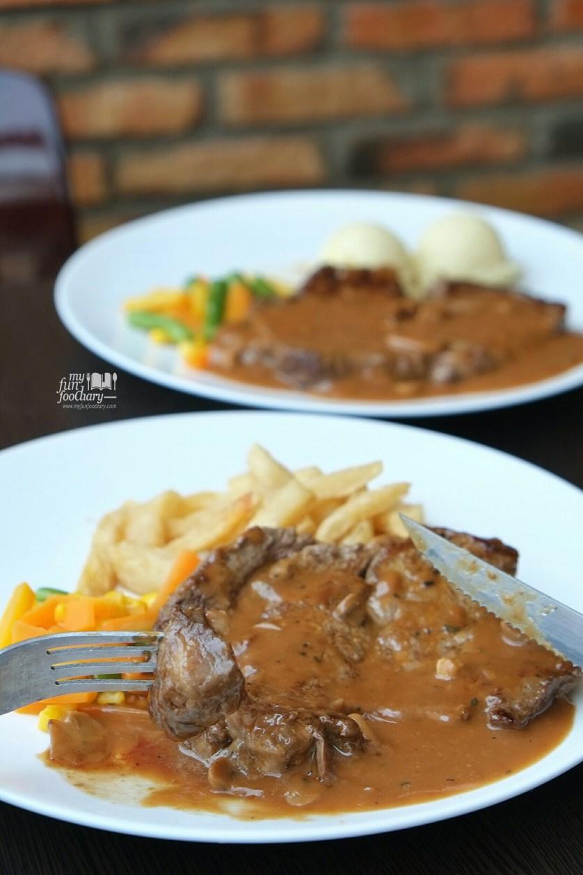 Rib Eye Import at Kitchen Steak Sunter by Myfunfoodiary