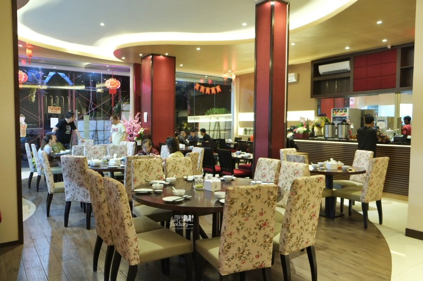 Suasana di Babura Dimsum Restaurant PIK by Myfunfoodiary