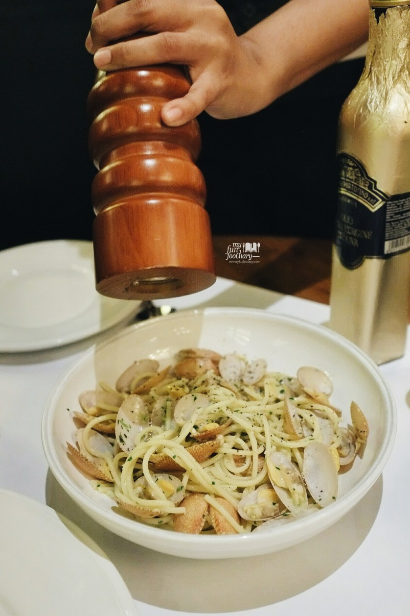 Blackpepper on pasta Caffe Milano by Myfunfoodiary
