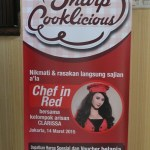 SHARP Cooklicious Demo – Chef in Red & Arisan Clarissa