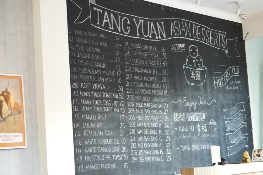 Daftar harga Tang Yuan Dessert by Myfunfoodiary