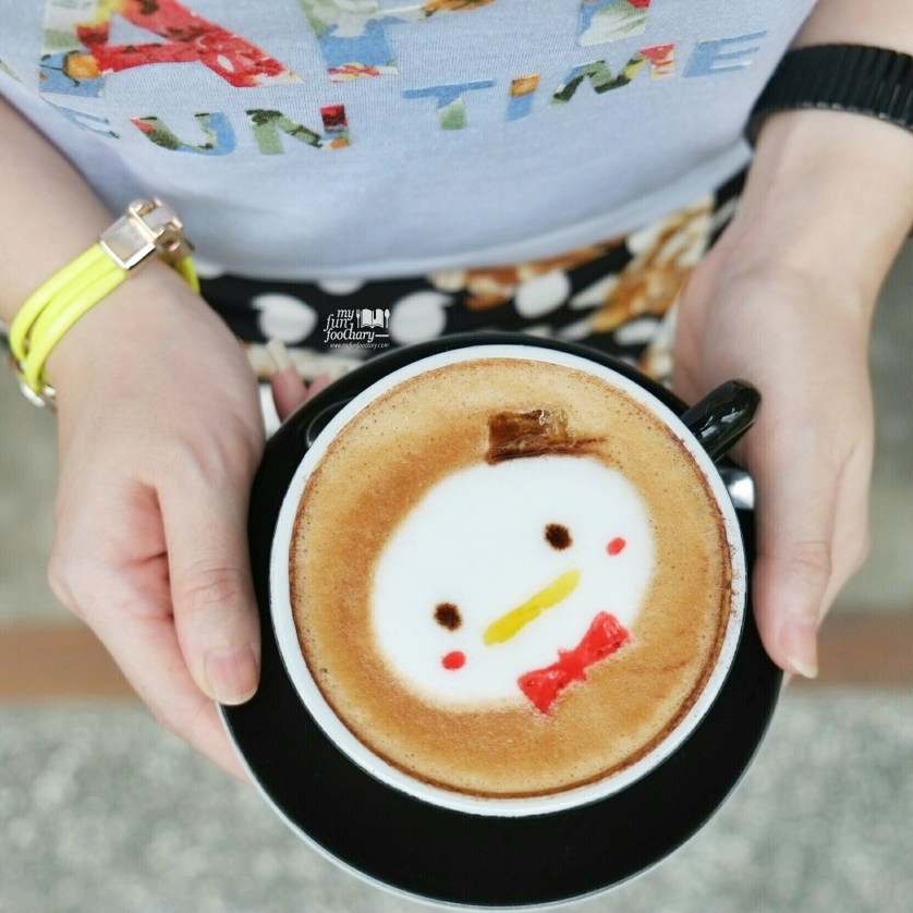 Disney Tsum Tsum Cappuccino at Noahs Barn Coffeenery by Myfunfoodiary 01