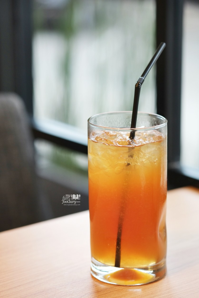 Iced Orange Lychee Tea at Motto Moo Hamburg by Myfunfoodiary