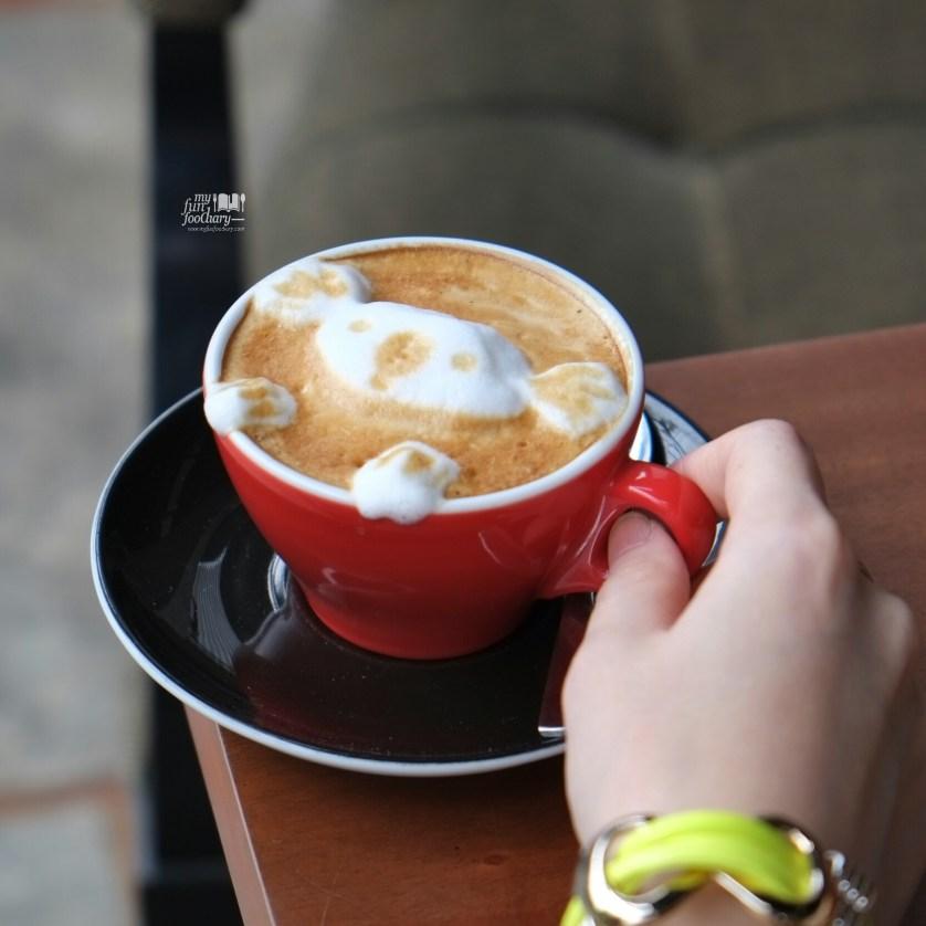 Koala in 3D Latte Art at Noahs Barn Dayang Sumbi by Myfunfoodiary