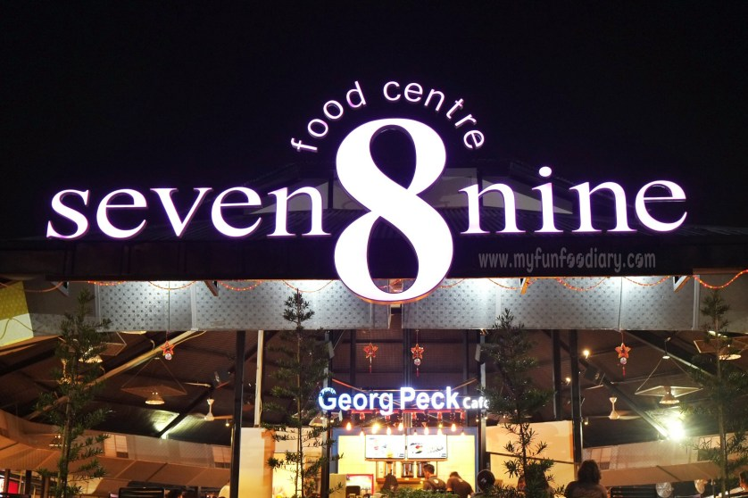 Signboard Seven 8 Nine Food Centre Kedoya by Myfunfoodiary