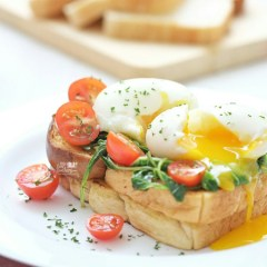 [RECIPE] Spinach on Toasted Bread with Soft Eggs