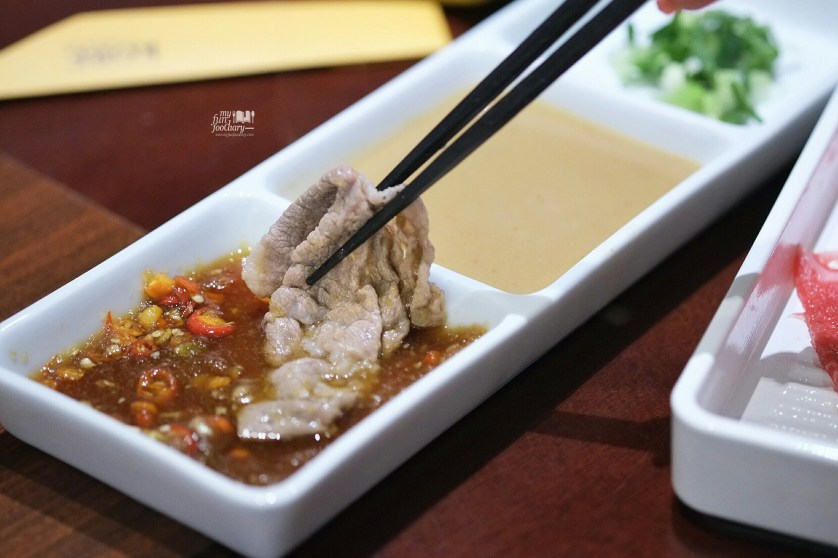 US Beef on Ponzu Chili at KOBE by Shabu Shabu House by Myfunfoodiary