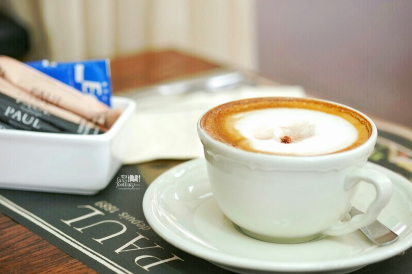 Hot Cappuccino at PAUL French Bakery by Myfunfoodiary-