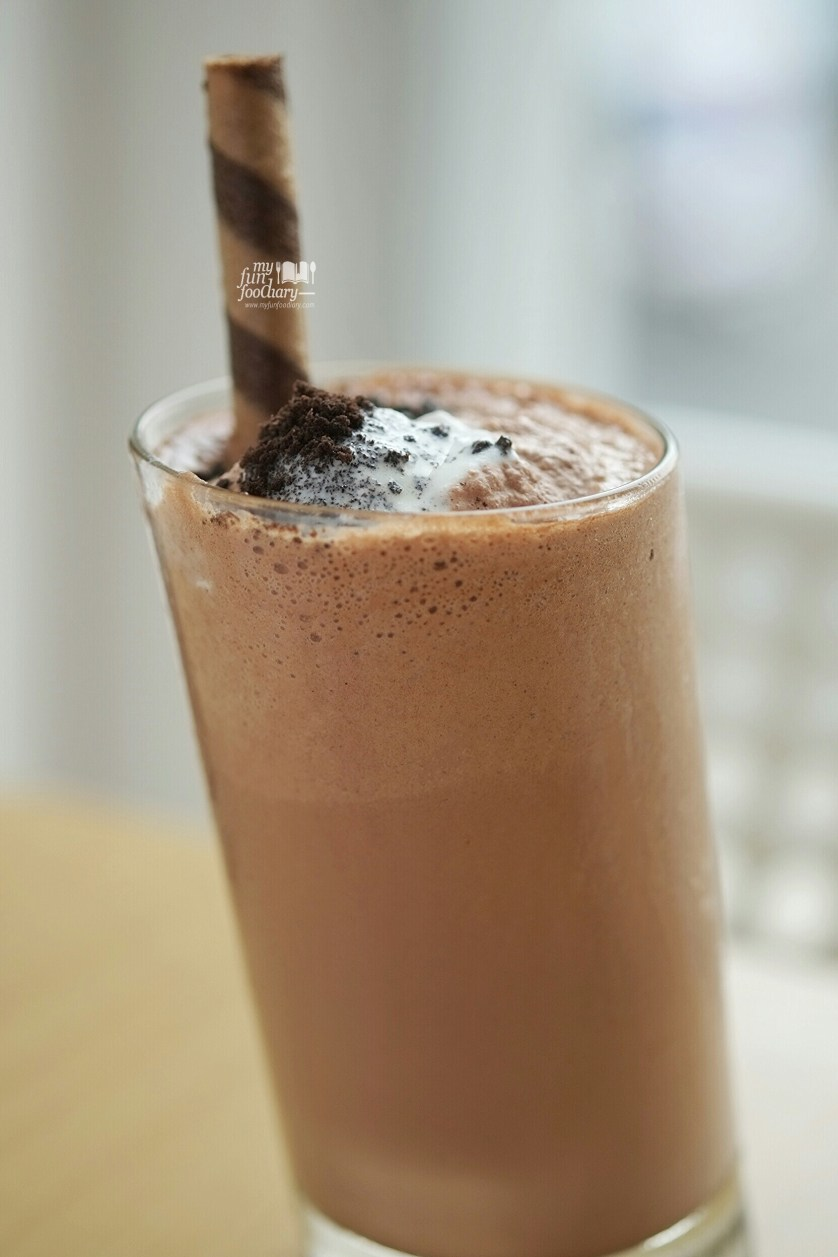 Nutella Freeze at The Republic of Burger Kemang by Myfunfoodiary