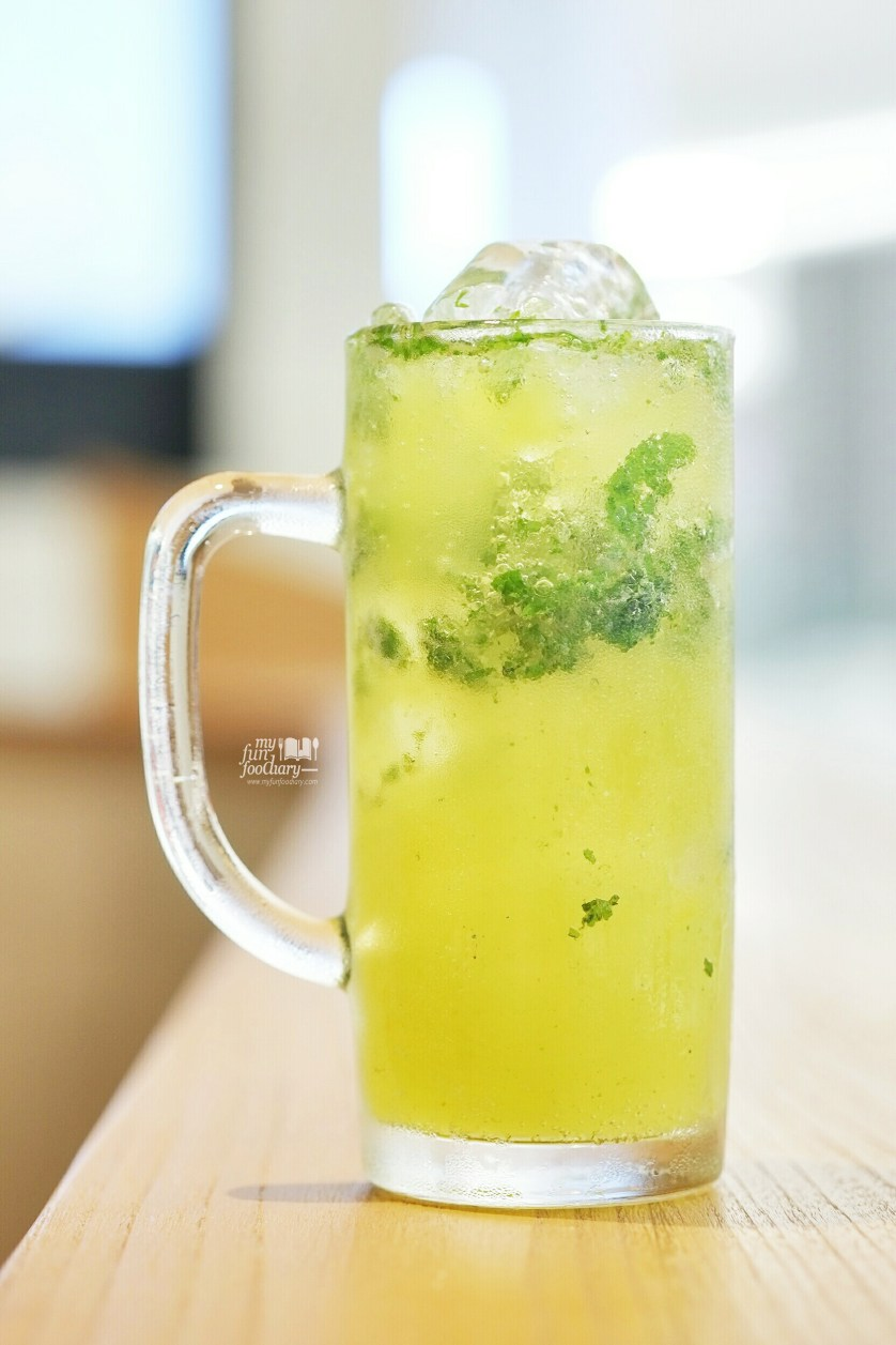 Pineapple Lime Mojito at Go Curry Lippo Mall Puri by Myfunfoodiary 01