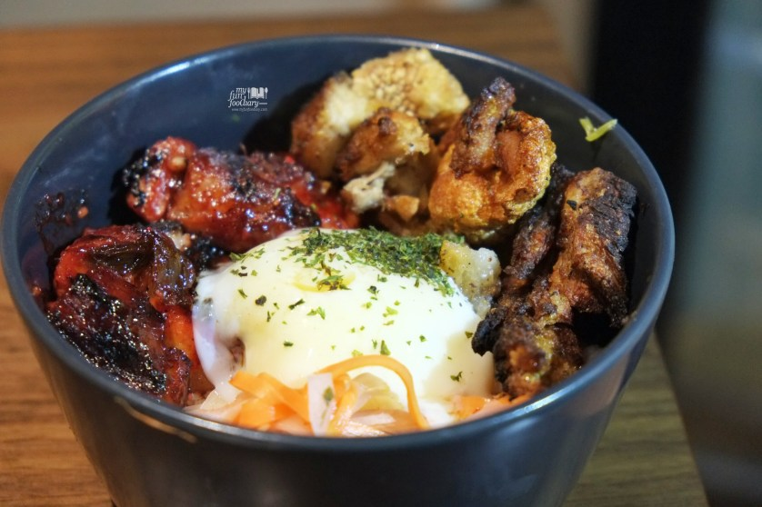 Pork Two Ways Rice Bowl at Commune Bistro and Grill by Myfunfoodiary