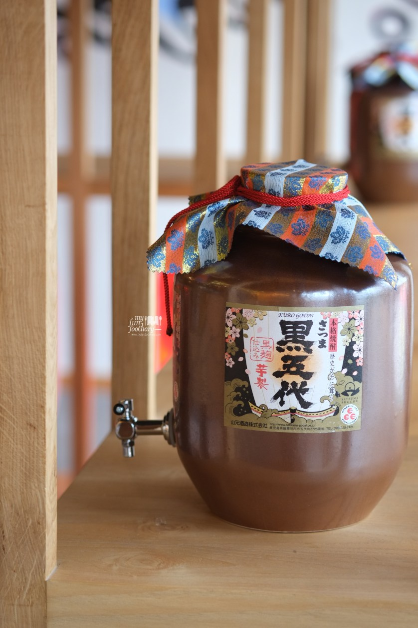Unique Jar at Ebisuya Restaurant by Myfunfoodiary