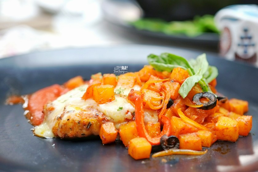Chicken Parmigiana at Odysseia Pacific Place by Myfunfoodiary