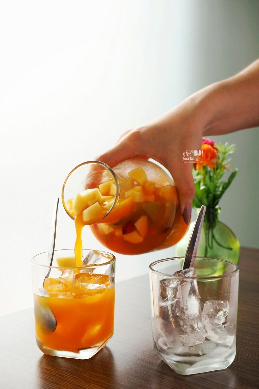 Fruit Punch at Martabak Ngileer Cafe by Myfunfoodiary