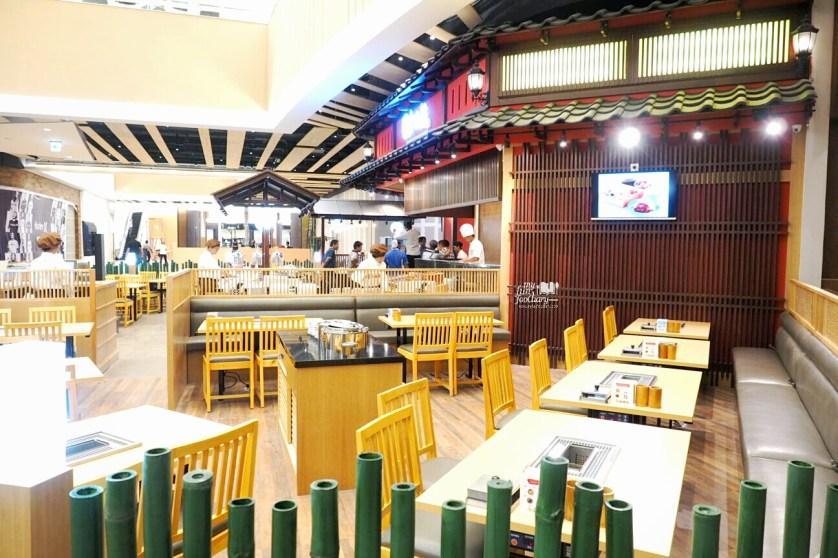 Minimalist Japanese Ambiance at Kushiya Monogatari at AEON Mall by Myfunfoodiary
