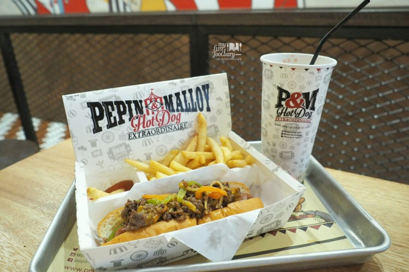 Philly Cheese Dog at Pepin and Malloy Citos by Myfunfoodiary
