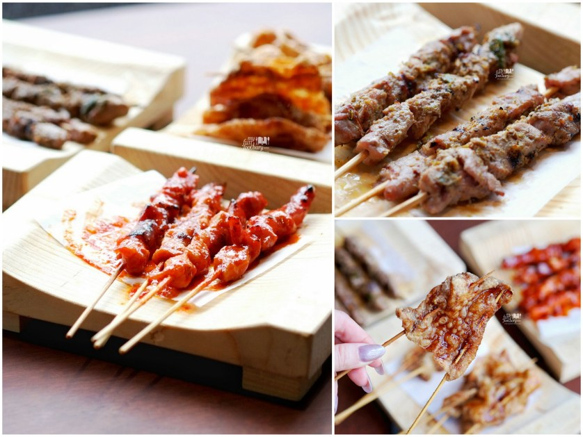 Variety of Skewers at Holy Wings by Myfunfoodiary