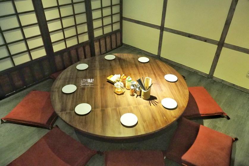 Cozy VIP Room Tontoki Restaurant MidPlaza by Myfunfoodiary