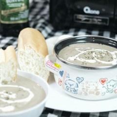 [NEW RECIPE] Creamy Mushroom Soup with Oxone Power Blender