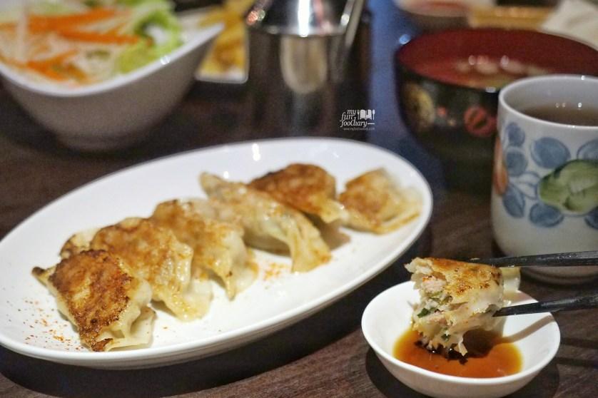 Gyoza Yaki at Tontoki Restaurant MidPlaza by MyfunfoodiaryTontoki Restaurant MidPlaza by Myfunfoodiary