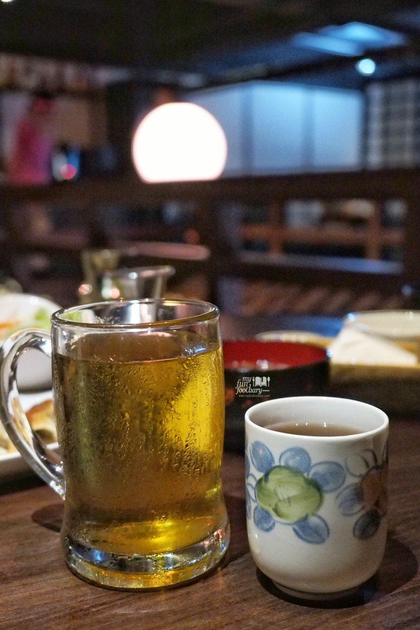 Hot and Cold Ocha at Tontoki MidPlaza by Myfunfoodiary