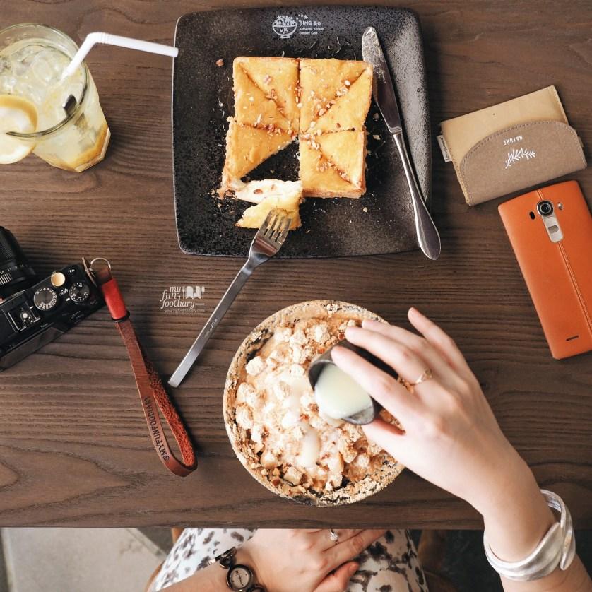 Injeolmi Bing Go Korean Dessert Cafe by Myfunfoodiary
